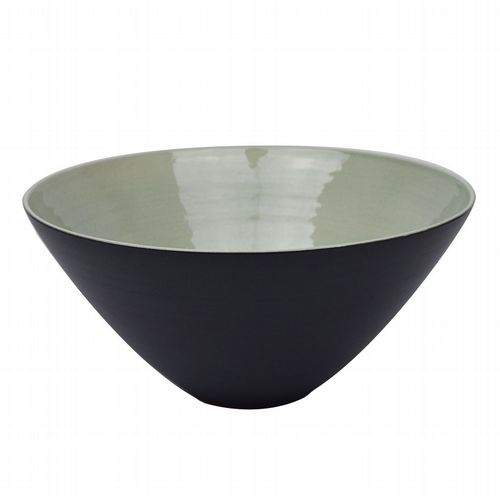 Conical Bowl - Medium - Pearl Grey